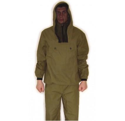 Anti encefalitis rusa Vestido militar de uniforme de verano