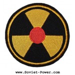 Nuclear Radiation Symbol Chernobyl patch 97