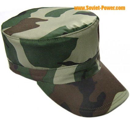 NATO Special Forces 4 color camouflage hat green cap
