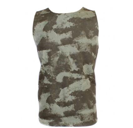 Tactical military SAND camo sleeveless Shirt