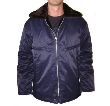 Soviet / Russian military winter pilot blue jacket