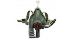 Russian pilot oxygen mask KM-32 for flight helmet Soviet air force