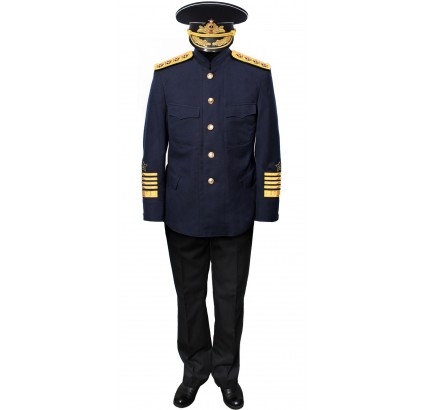 Russe Naval ADMIRAL JACKET Costume URSS Uniforme militaire