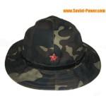 PANAMÁ Sombrero de camuflaje usado en la guerra de Afganistán