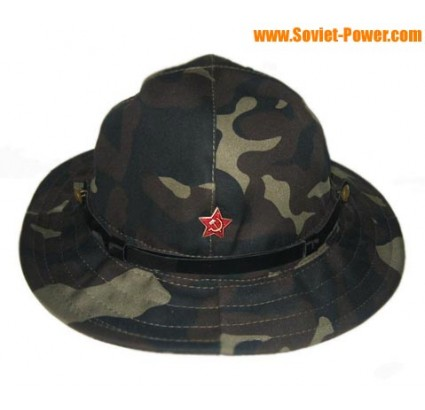 PANAMA Camo hat used in Afghanistan war