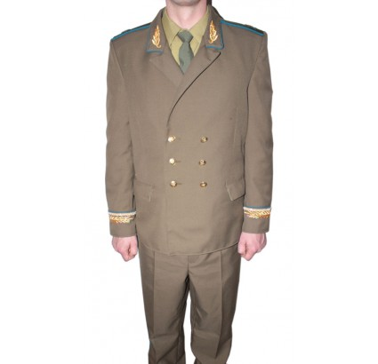 USSR Air Force Generals everyday khaki uniform with hat