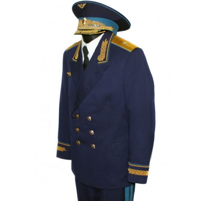 Genuine Soviet Air force Generals uniform with hat