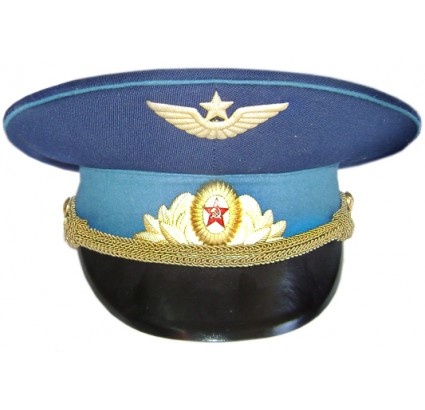 Russian Air Force Parade Officer Visor Cap