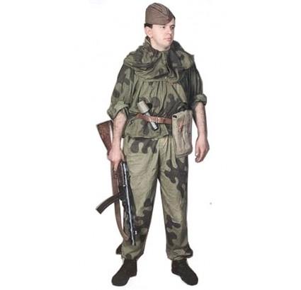ロシアの第二次世界大戦の軍の迷彩ユニフォームアメーバ夏