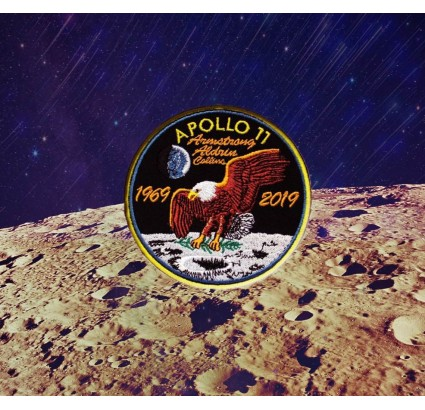 Neil Armstrong Apollo 11 1969 Space Mission Program Patch