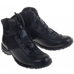 Botas tacticas de cuero ARAVI BLACK 42 / US 9.5 / UK 8