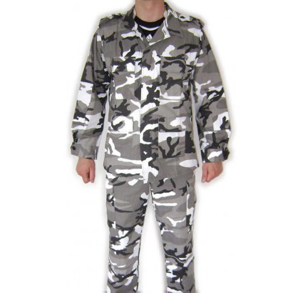 "Summer BDU camo uniform ""Arctic"" pattern ""Rip-Stop"""