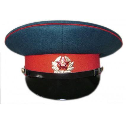Armée URSS sergent défilé militaire visière chapeau