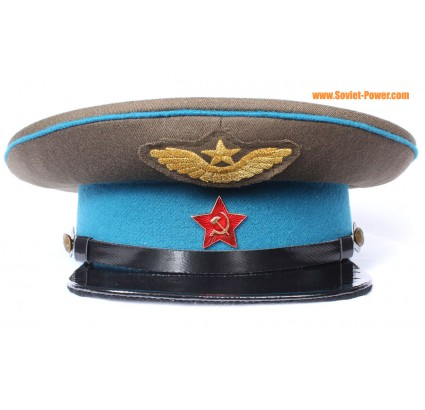 Russian AVIATION VISOR CAP Red Army hat