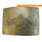 Hebilla rusa para cinturón con águila Servicio federal de límites