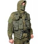 Ruso digital camo Spetsnaz Oficiales semi-temporada uniforme traje BTK