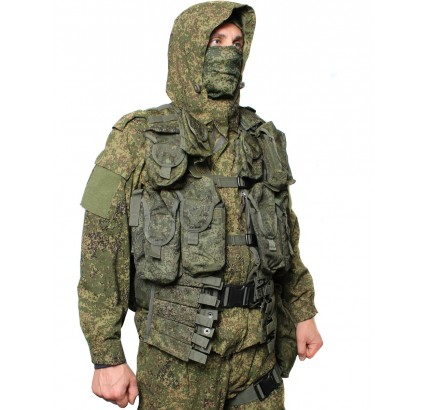 Russian digital camo Spetsnaz Officers demi-season uniform suit BTK