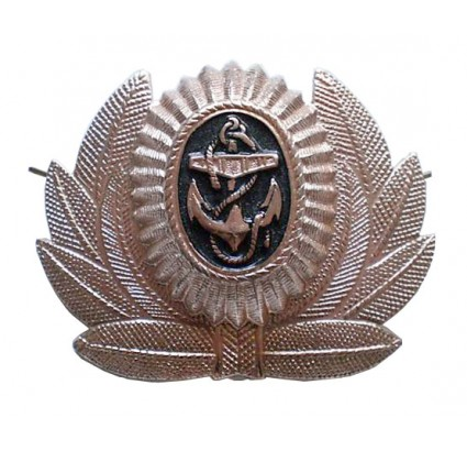 USSR Marines badge cockade with anchor