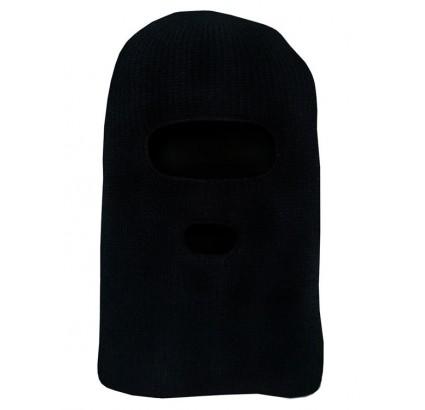 Black Russian woolen Balaclava hood face mask