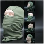 Maschera viso di airsoft dell'oliva di Balaclava Storm cappuccio