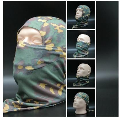 バラクラバ嵐のフードカエルpartizanカモフラージュフェイスマスク