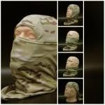 Capucha de francotirador capucha de tormenta Multicam Máscara facial moderna