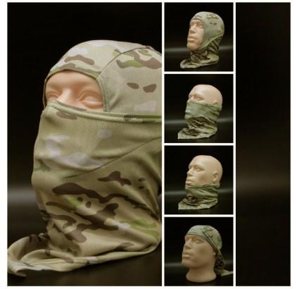 Sniper balaclava Storm cappuccio Multicam Maschera viso moderna