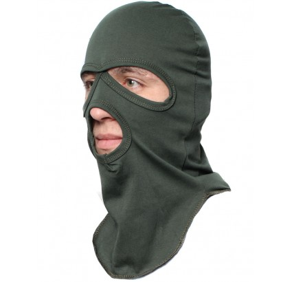 Olive / Khaki / Black Balaclava cotton hood face mask