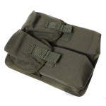 4 AK Russian magazine Pouch MOLLE airsoft / combat bag