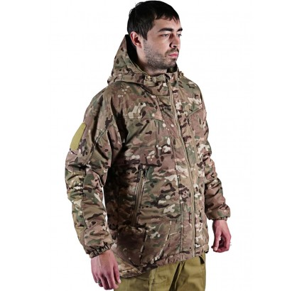 BARS Cyclone warm membrane Russian tactical jacket MULTICAM camouflage