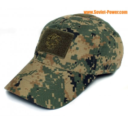 MARPAT camouflage airsoft chapeau de baseball Ripstop