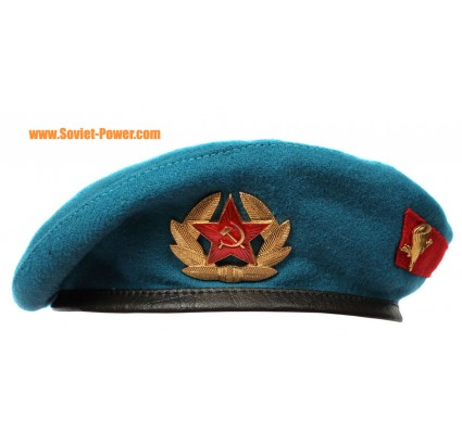 Russian Army VDV Airborne troops blue BERET hat