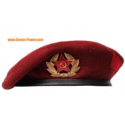 Maroon Beret military Russian Spetsnaz hat