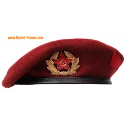 Gorra marrón militar de Spetsnaz de la boina