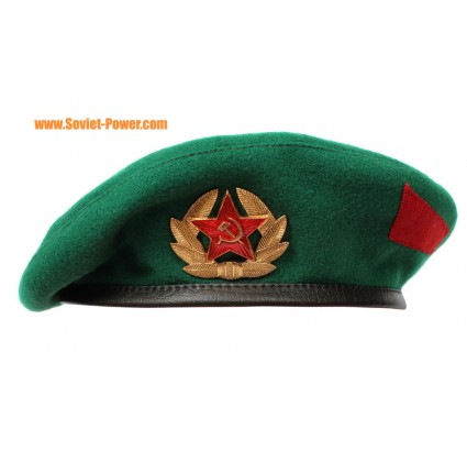 BERET Border Guards Russian GREEN hat