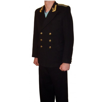 Soviet Naval Aviation uniform jacket and trousers military suit 50 / US 40