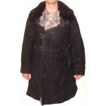 URSS generali dell'esercito invernali in pelle scamosciata cappotto in pelle