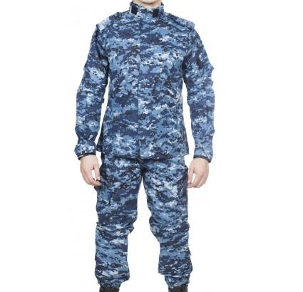 Bleu numérique ACU tactique uniforme Spetsnaz urbaine
