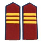 WW2 Russian NKVD Internal Troops Sergeant Shoulder Boards 1943