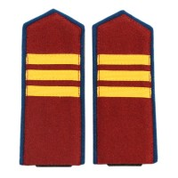 NKVD sergeant shoulder boards +$10.00