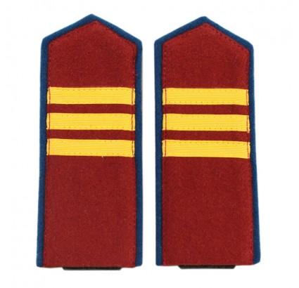WW2ロシア語NKVD内部軍曹サングラスショルダーボード1943
