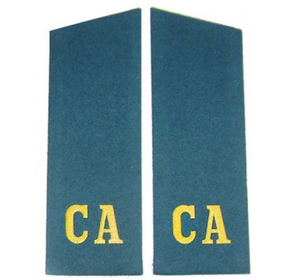 Russian Airborne troopers blue shoulder boards CA - Soviet Army