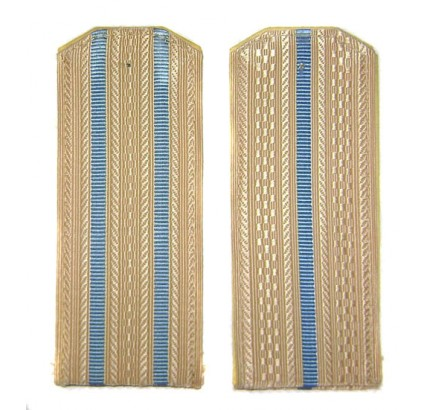 Russian Air Force blank shoulder boards