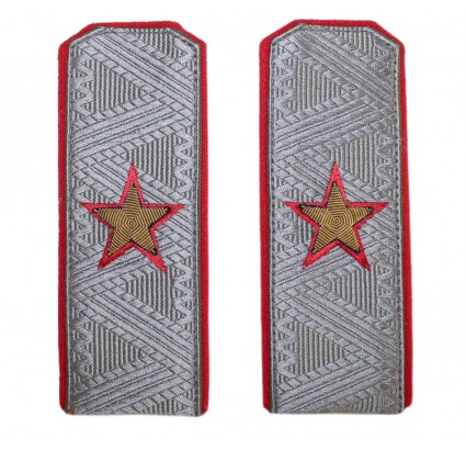 Parade embroidery USSR Army General shoulder boards