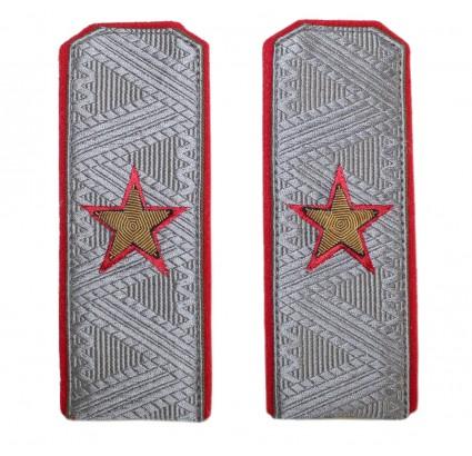 Parade broderie URSS Armée épaulettes générales