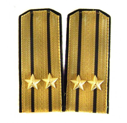 USSR Navy epaulettes parade shoulder boards