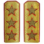 USSR Army high rank parade Generals epaulettes