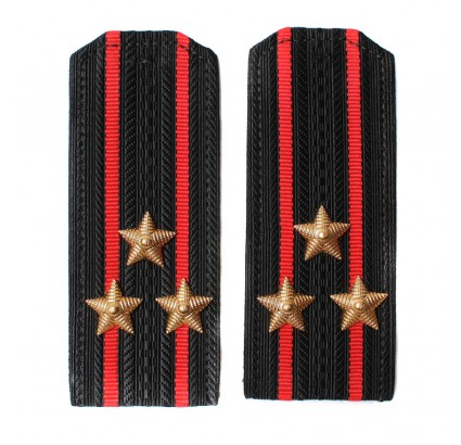 Russian Army Marines shoulder straps for senior ranks