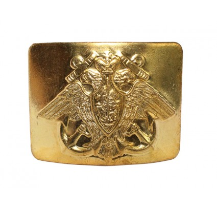 Soviet Golden buckle for belt with eagle NAVY