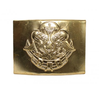 Russian Golden VDV buckle for belt Airborne troops